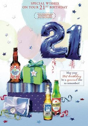 21st Birthday - Personalise