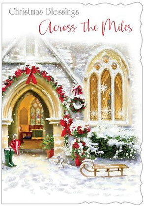Across The Miles Christmas Blessings