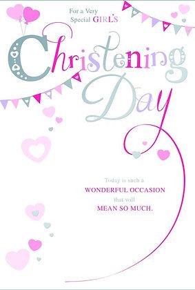 Baby Girl Christening Day