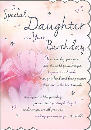 Special Daughter On Your Birthday