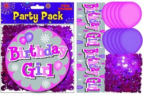 Birthday Girl Party Pack