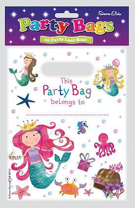 10 Mermaid Loot Bags