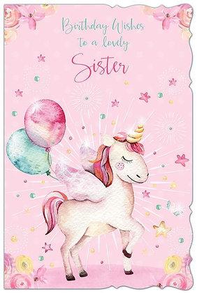 Sister Birthday - Unicorn