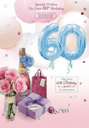 60th Birthday - Personalise