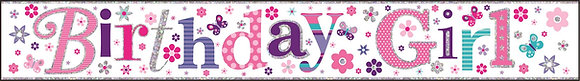 Birthday Girl Banners