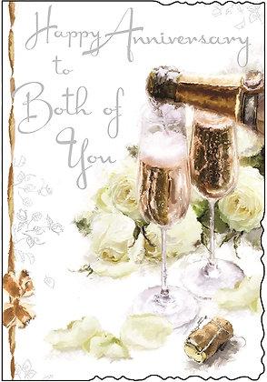 Jonny Javelin Happy Anniversary To Both Of You