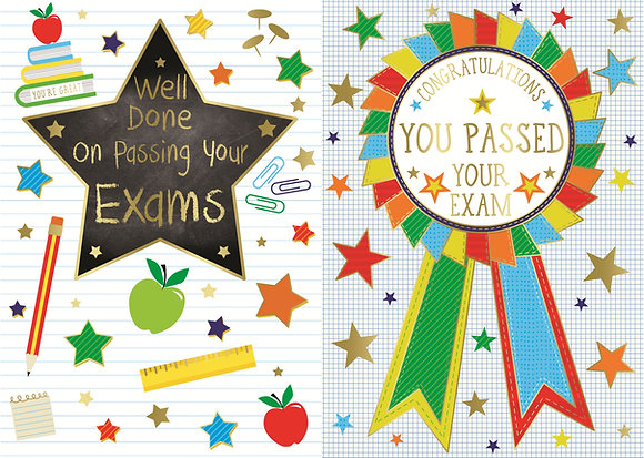Well Done On Passing Your Exams