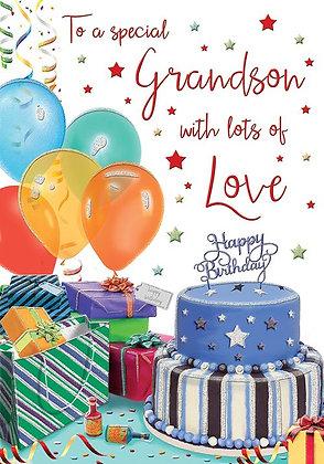 Grandson Happy Birthday