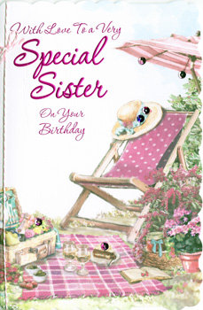 Special Sister Birthday - Large