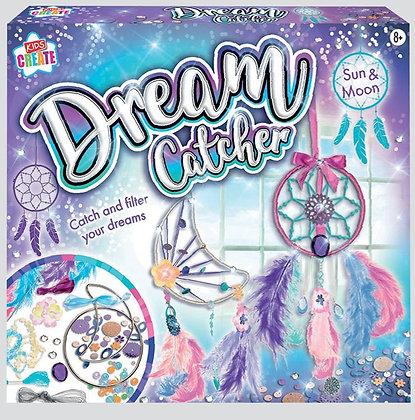 Make Your Own Sun & Moon Dreamcatcher