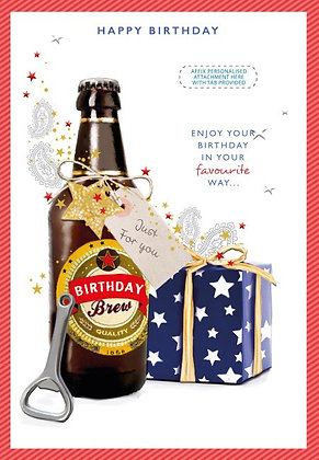 Personalise Your Own Birthday Card