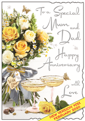 Jonny Javelin Mum & Dad Anniversary