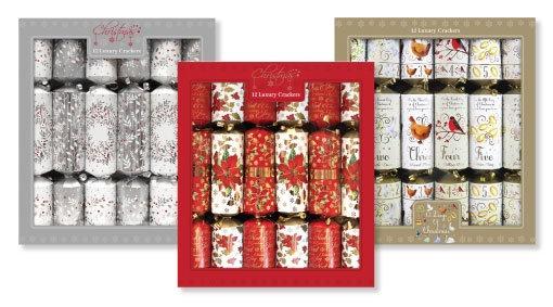 12 Luxury Christmas Crackers