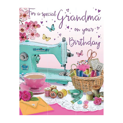 Grandma Birthday Card