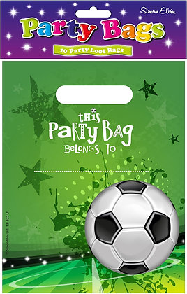 10 Football Loot Bags