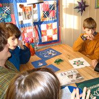 Sewing with Orphans in Russia