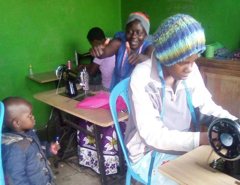 Sewing changes lives