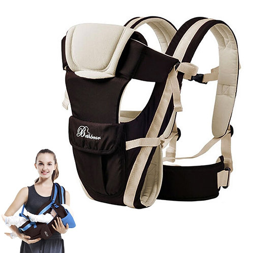 Beth Bear Baby Carrier 0-30 Months Breathable Front Facing 4 in 1 Infant
