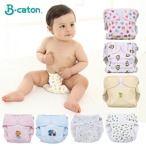Baby Reusable Diaper Pants Cloth Diapers for Children Training Pants Adjustable
