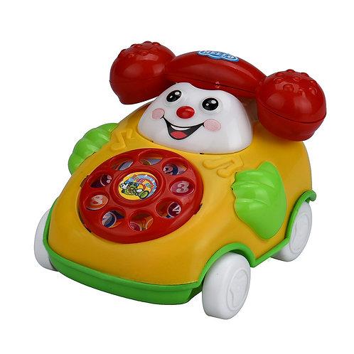 New Educational Toys Cartoon Smile Phone Car