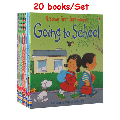 20 Books/12Books for 1 Set Kids Usborne Story Picture Books Farmyard Tales Baby