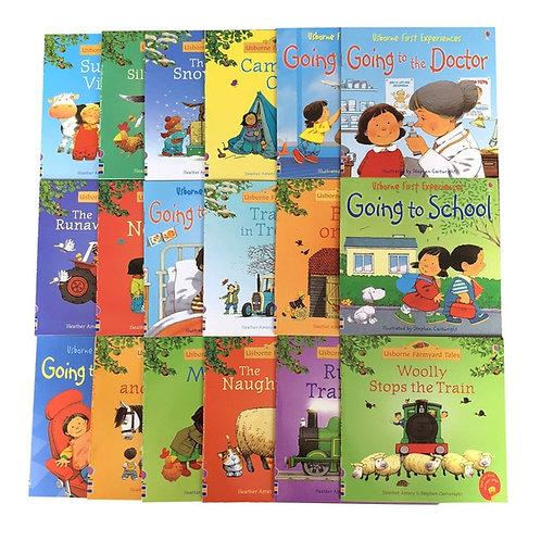 8 Books 15x15cm Usborne Best Picture Books Children Baby Famous Story English