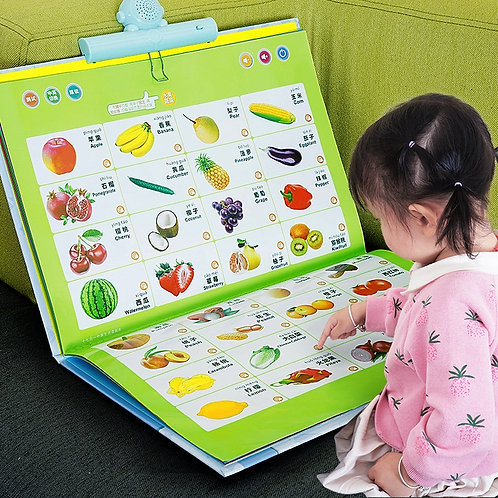 Young Children Point to Read Audio Books Audio Books Early Education Machine