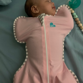 Baby with Love to Dream Swaddle Up