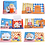 Thumbnail: Baby Book Soft Cloth Books Toddler Newborn Early Learning Develop Cognize