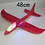 Thumbnail: 36-48cm Hand Throw  Flying Glider Planes Foam Plane Toys Model Glider Airplane