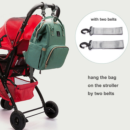 Large Capacity Diaper Bag Backpack Waterproof Maternity Bag Baby Diaper Bags USB