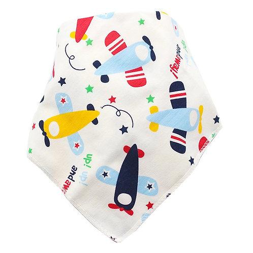 1pc Baby Bibs Cotton Infant Feeding Towel Newborn Girls Boys Toddler Triangle