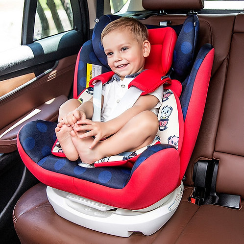 Car Child Safety Seat ISOFIX Hard Interface 0-12 Years Old Baby Can Lie