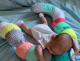 Tummy Time Progress Over the Weeks