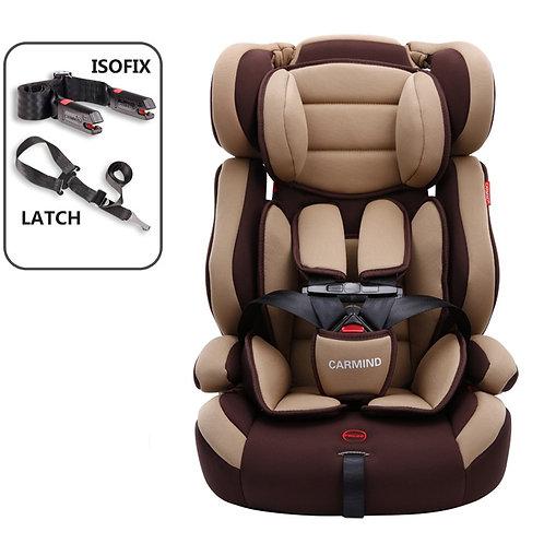Portable Baby Safety Seat Lightweight Children Car Seat Isofix Latch Interface