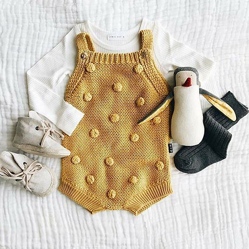 0-18m 4COLOR Winter Newborn Infant Baby Boy Girl Bodysuits Sweater Sleeveless