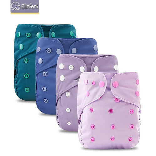 Elinfant New Arrival Baby Cloth Diaper Cover Waterproof Cartoon Baby Washable