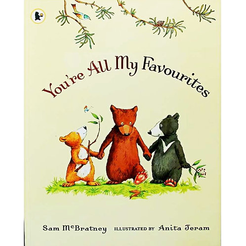 You're All My Favorites by Sam McBratney Educational English Picture Book