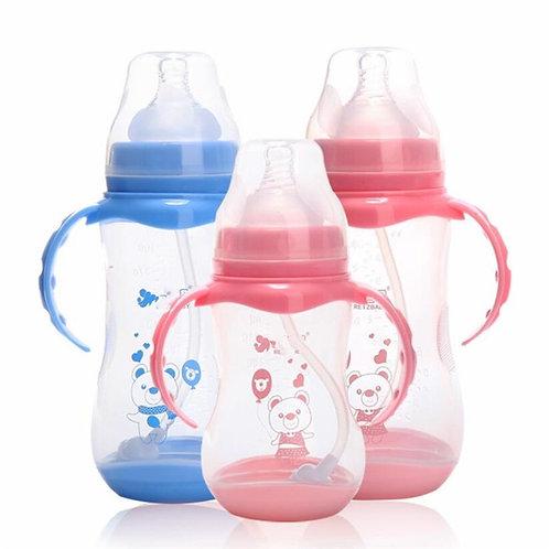 Anti-Colic BPA Free Natural PP Milk Feeding Bottle Wide Mouth Water Bottle