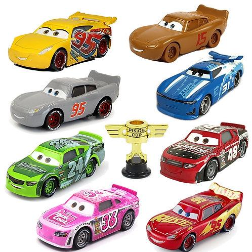 Disney Pixar Cars 2 Cars 3 No.95 Lightning McQueen Mater Jackson Storm Ramirez