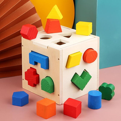 Early education building block toys (Cube)