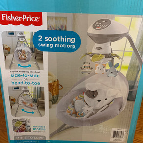 Fisher Price Swing - How to Put together