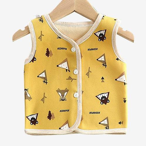 2019 Winter Children Baby Cotton Vest Waistcoat Kids Vest Toddler Baby Warm