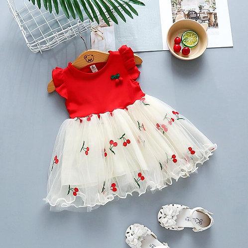 Baby Girls Summer Wedding Dresses Newborn Baby Fashion Cute Lace Princess Party