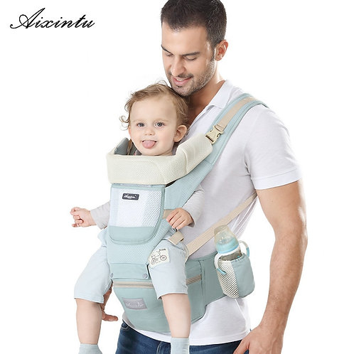 Ergonomic New Born Baby Carrier Infant Kids Backpack Hipseat Sling Front Facing