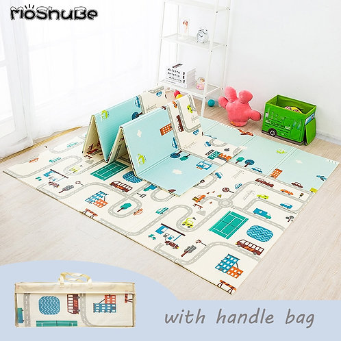 Foldable Baby Play Mat Xpe Puzzle Mat Educational Children's