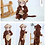 Thumbnail: Winter Baby Clothes Panda Newborn Clothes Baby Girls Boys Romper Infant Clothing