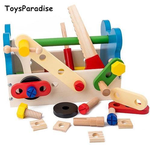Simulation Maintenance Tool Toys Portable Toolbox