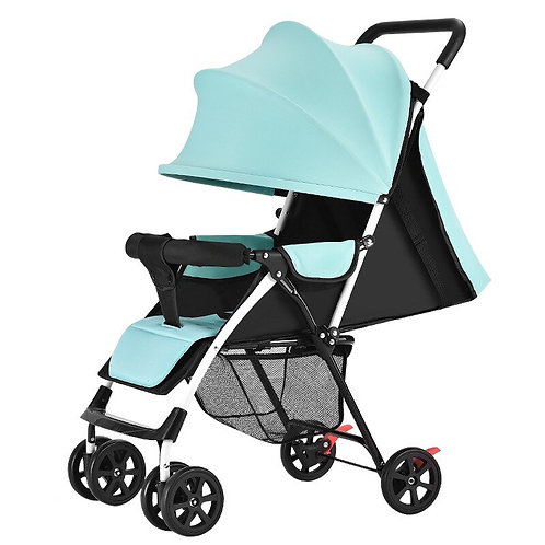 2020 Lightweight Portable Baby Stroller Can Sit Lie Summer Simple Folding