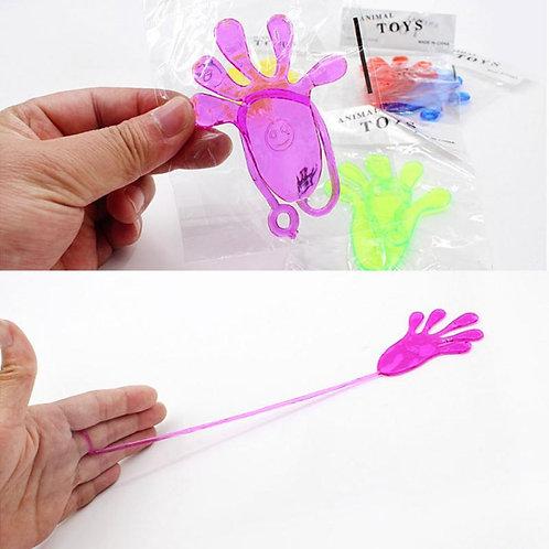 Novelty Gag Toy Elastically Stretchable Sticky Palm Climbing Tricky Hands Toys